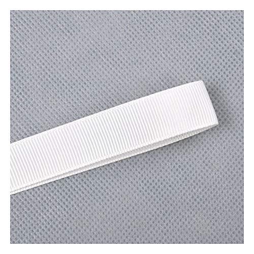 JIWEIER Cinta Hecho a Mano Rowan Ribbon DIY Joyería Regalo Productos al Horno Wenwan Packaging Blanco y Negro 63mm Fuentes de Costura de Bricolaje (Size : 000)