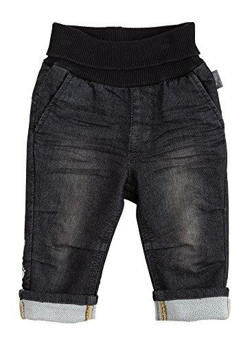 Sigikid Baby-Jungen Jeans, Blau (Black Denim 11), 68