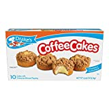 Drake's 10 ct Coffee Cakes with Cinnamon Streusel Topping 11.5 oz (Pack of 6)