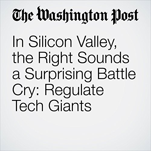 In Silicon Valley, the Right Sounds a Surprising Battle Cry: Regulate Tech Giants copertina
