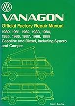 Volkswagen Vanagon: Official Factory Repair Manual 1980, 1981, 1982, 1983, 1984, 1985, 1986, 1987, 1988, 1989 Gasoline and Diesel, Including Syncro (Volkswagen service manuals)