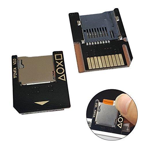 Para PsVita tarjeta de juego a Micro SD TF tarjeta adaptador de transferencia Push para expulsar para PSVita sd2vita 100020003,60sistema