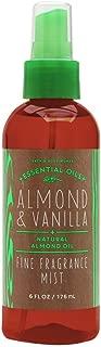Bath and Body Works Fine Fragrance Mist Almond Vanilla 6 Ounce New Version Amber Bottle