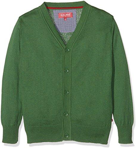 Gol Strick-Cardigan Giacca, Verde (Green), 12 Anni Bambino