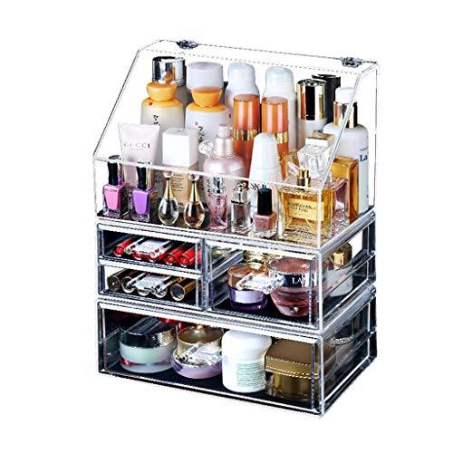 Llq2019 Estuche de Maquillaje Estuche de cosméticos Organizador de Viaje Gran Capacidad...
