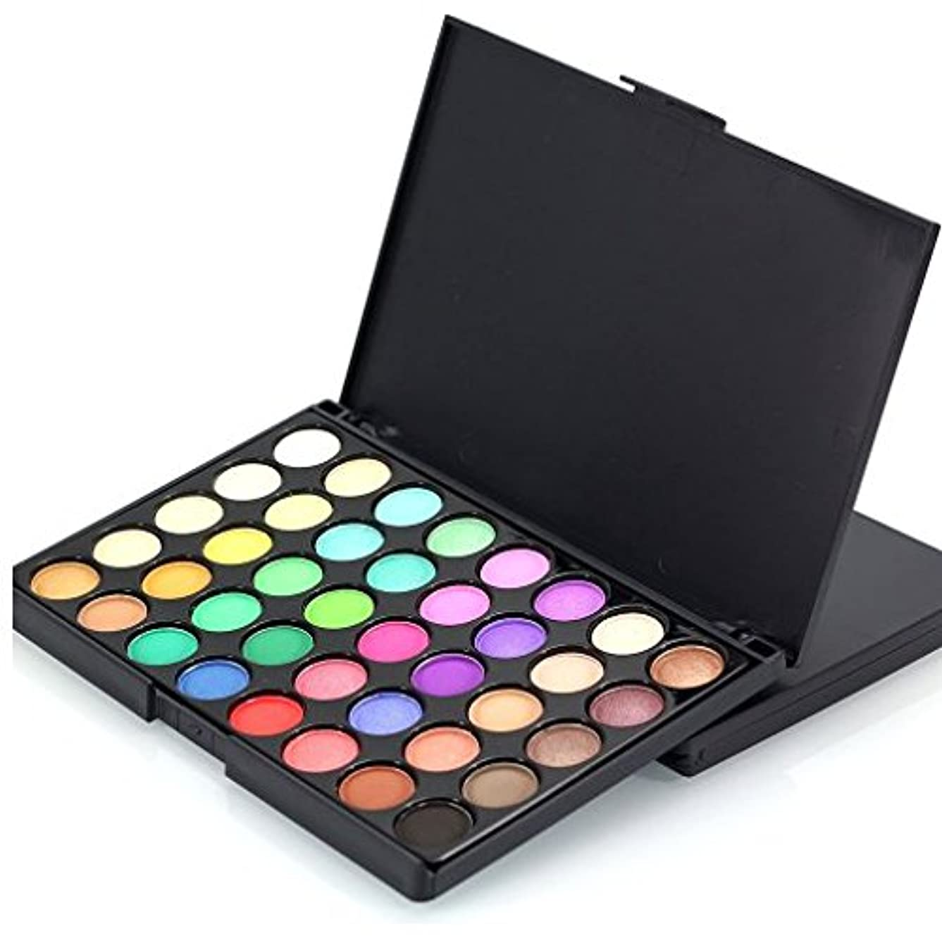 リーバリケード課す40 Color Matte Eyeshadow Pallete Make Up Palette Eye Shadow Glitter Natural Easy to Wear Waterproof Lasting Makeup Pallete