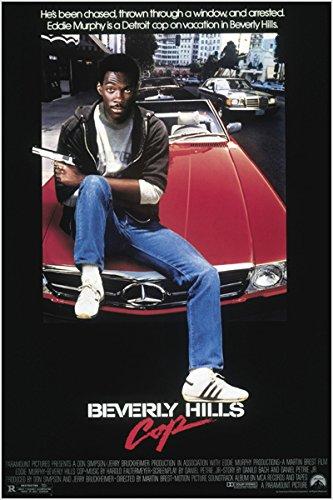 drank HILLS COP vintage film poster EDDIE MURPHY grappige COLLECTORS 24X36 (reproductie, geen origineel)