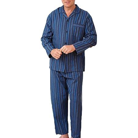 New Mens CHAMPION Wyncette Brushed Cotton Pyjama nightwear lounge wear Blue XL