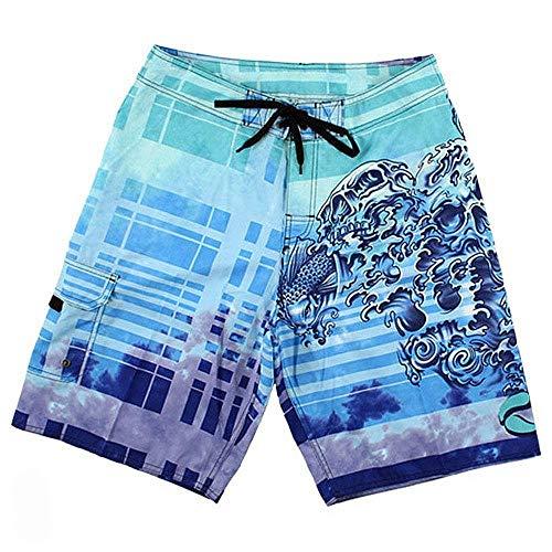 Liquid Blue - Short de Bain - Homme Multicolore Bigarré