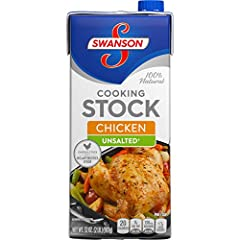 QUALITY INGREDIENTS:  Swanson's high-quality, unsalted chicken stock* is crafted from simple, high-quality ingredients like chicken sourced from farms we trust and finest vegetables and spices, picked at the peak of freshness. * Not a Sodium Free Foo...