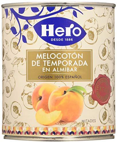 Hero Bote de Melocotón en Almíbar - Pack de 6x845 g