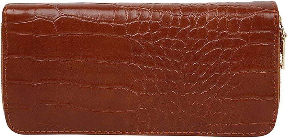 KESYOO Coin Purse PU Coin Pouch Long Cards Bag Women Wallet Change Storage Bag