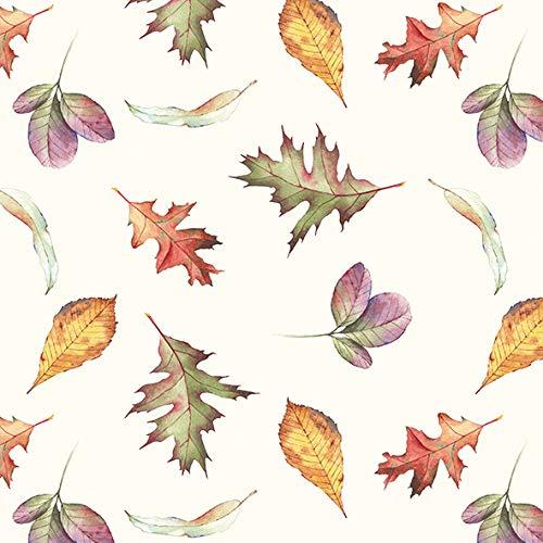 Papier- Servietten Falling Leaves Lunch Party Fest Ca. 33x33cm fuer Herbst Winter Weihnachten
