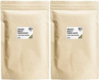 nichie 有機 大麦若葉 青汁 大分県産 100% パウダー 1kg