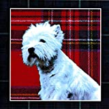 West Highland Terrier Christmas Cards Set of 8 Cards and Envelopes