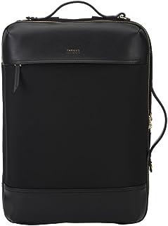 Targus Newport Bolso Convertible de 12 L, Mochila para portátiles de hasta 15'' con Compartimento específico, Mochila Convertible en Bolso Mensajero – Negro, TSB947GL