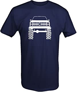 1980's 90's Chevy K5 Blazer Lifted Mud Tires Truck T Shirt