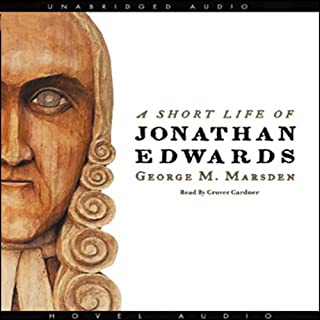A Short Life of Jonathan Edwards cover art