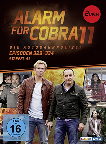 Alarm für Cobra 11 - Staffel 41, Episoden 329-334 [2 DVDs]