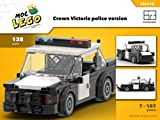 Crown Victoria police car (Instruction Only): MOC LEGO