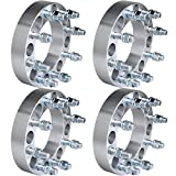 OCPTY replacement parts for 4X 1.5 inch 8x6.5 to 8x6.5 Wheel Spacers 8 lug Fits for For-d F250 F350 for Dodge for Ram 2500 3500 (8x165.1 9/16' Studs)