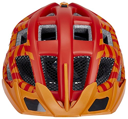 KED Crom Helmet Red Orange Matt Kopfumfang 52-58 cm 2017 mountainbike helm downhill
