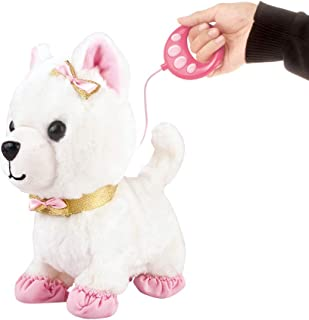 deAO Interactive Electronic Pet Dog Toy with Detachable Lead, Walking, Touch, Voice and Gesture Sensing Functions – Great ...