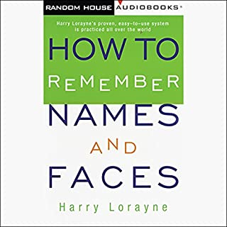 How to Remember Names and Faces cover art