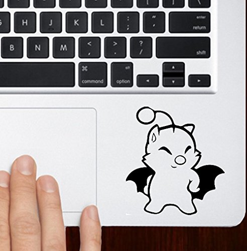 Final Fantasy Kupo Sticker Decal Studio Ghibli White Car Window Wall Macbook Notebook Laptop Vinyl Decal