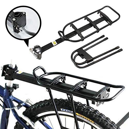 CDDSML Bicicleta de aleación de Aluminio Bicicleta Ciclismo Asiento Trasero Bolsa de Equipaje portabags