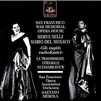 """Herva Nelli & Mario Del Monaco - """"Gli Ospiti Radiofonici"""""""