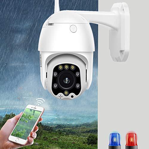 1080p Indoor Home Kameras Ptz Speed Dome WiFi Sicherheit IP-Kamera 1080p Outdoor 5x Zoom Wireless Kamera 8pcs LED 30m...