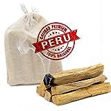 RUBY - Palo Santo Incienso Natural XL Madera Sagrada 100% Natural de Perú para alejar Las Energías negativas y atraer Las Vibras Positivas (8-9 Palos)