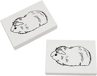 Azeeda 2 x 45mm 'Guinea Pig' Erasers / Rubbers (ER00013947)