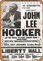 ブリキ 看板 コカ 通販 白い桜雑貨屋レトロ [ John Lee Hooker in Houston ] 壁飾 アンティーク メタル レトロ 看板 販売(30x40cm)
