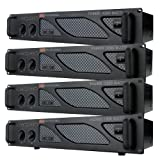 EMB Pro - PA2400 - Rack Mount Professional Power Amplifier - 1200 Watts PA Band Club