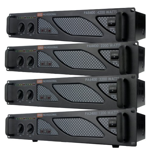 EMB Pro - PA2400 - Rack Mount Professional Power Amplifier - 1200 Watts PA Band Club