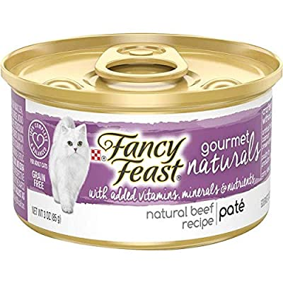 Cat Food Fancy Feast Gourmet Naturals Purina... [tag]