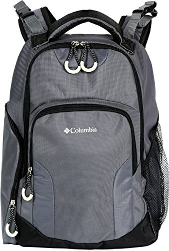 Columbia Summit Rush Backpack Diaper Bag, Grey