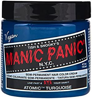 マニックパニック カラークリーム アトミックターコイズ