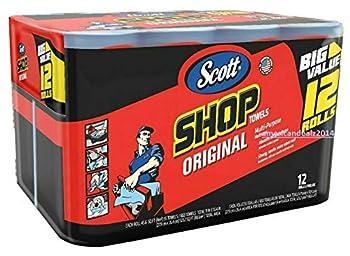 Scott 75130 Shop Towels 55 Towels   12 rolls