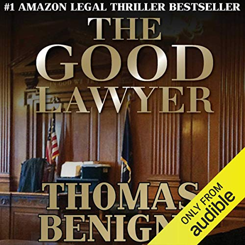 The Good Lawyer audiobook cover art