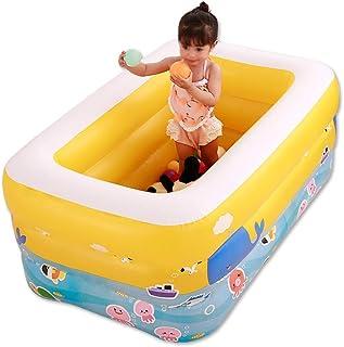 HOMESROP 130x55x85cm Easy Prompt Fast Set Piscina Infantil- Piscina for bebes Piscina Infantil Piscina Infantil Jardin al Aire Libre