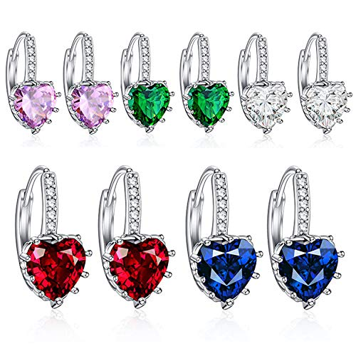 Hot And Bold Austrian Crystals Fashion Earrings Combo/Gift Set For Women & Girls. Price in India