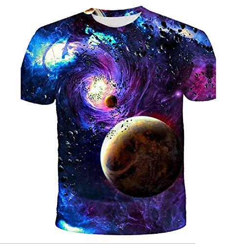 Unisex 3D Printed T-Shirt Casual Short Sleeve Tops Tee Shirts Tops for Men Women