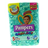 Pampers - Baby Dry - Pañales - Talla 5 (11 - 25 kg) - 17 pañales