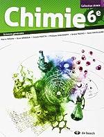 Chimie 6e - 2 Periodes Semaine - Sciences Générales 2 Periodes Chimie/Semaine de Pirson...