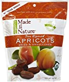 Made In Nature Organic Dried & Unsulfured Apricots, 6 oz