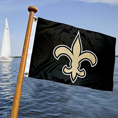WinCraft New Orleans Saints Boat and Golf Cart Flag