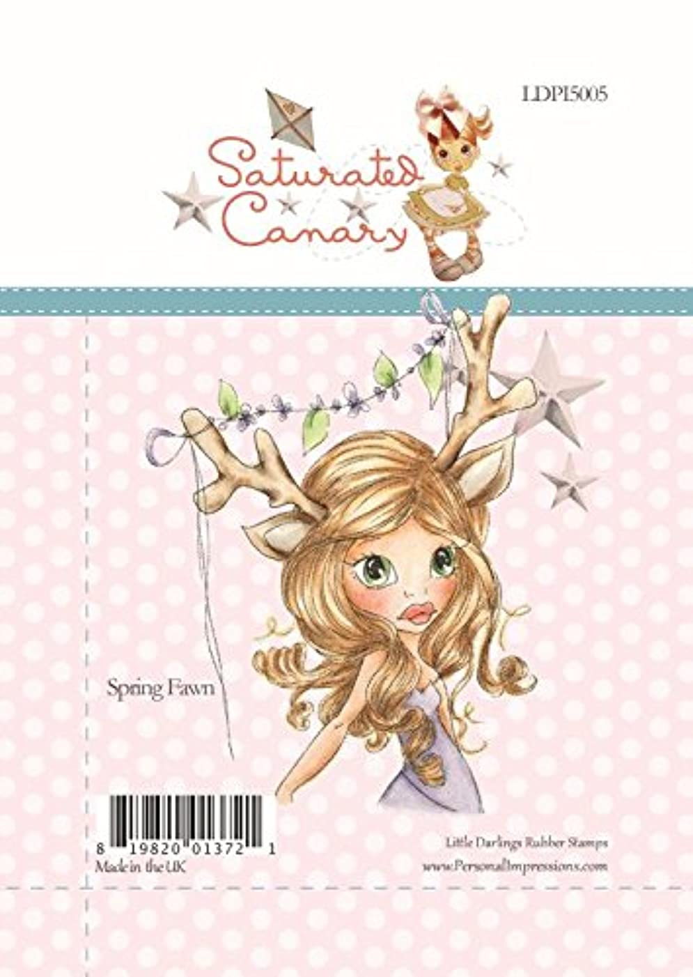 Little Darlings Spring Fawn Clear Stamps by Little Darlings